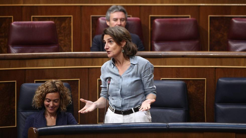 """Teresa Ribera: """"la sustitución de los motores de combustión se hará sin cataclismos"""""""