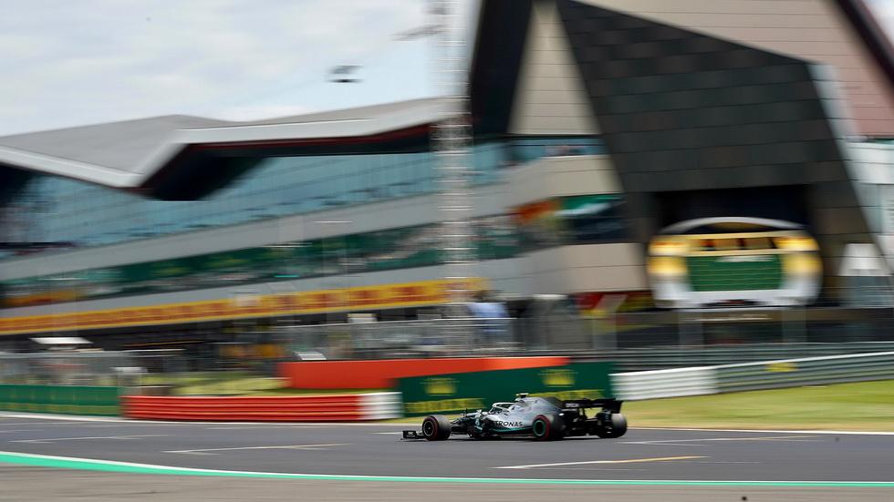 GP de Gran Bretaña de F1 (FP2): los Mercedes dominaron la segunda libre