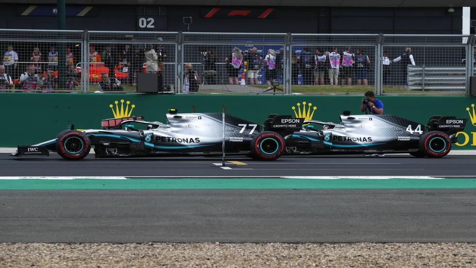 GP de Gran Bretaña de F1: así queda la parrilla de salida