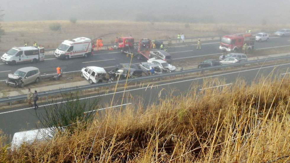 """Efecto """"Vieja del visillo"""": la Guardia Civil alerta de este peligro en carretera"""