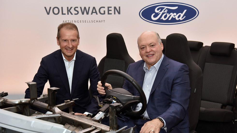Ford empleará la plataforma de coches eléctricos de Volkswagen: todos sus planes