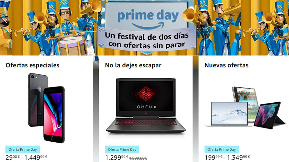 Amazon Prime Day: encuentra las mejores ofertas del martes