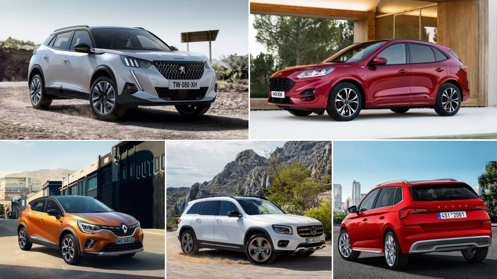 Todos los SUV que llegan hasta final de año: Captur, 2008, Kuga, CX-30, Juke…