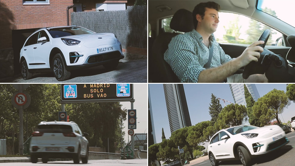 Kia e-Niro: un día, y una vida, sin restricciones (VÍDEO)