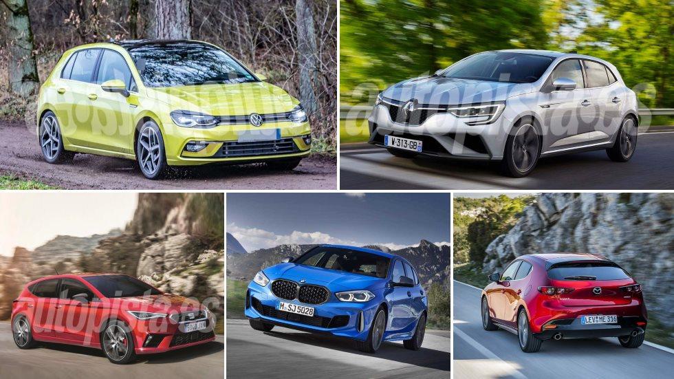 Todos los compactos que llegan hasta final de año: Astra, Golf, León, Mégane…