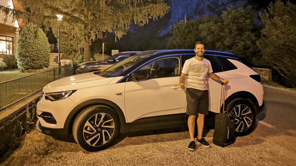 Fin de semana a los mandos del Grandland X: aventura Opel