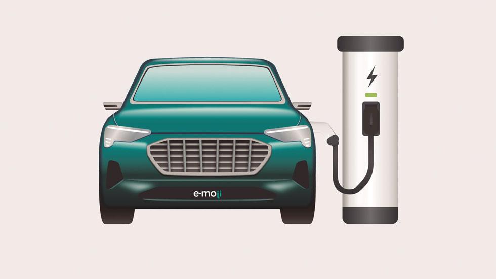 El coche eléctrico ya tiene su emoticono: ¡así es!