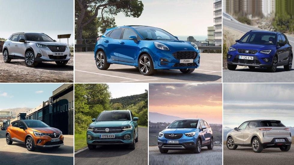 El nuevo Ford Puma y todos sus rivales SUV: Arona, 2008, Captur, Juke, Kona…