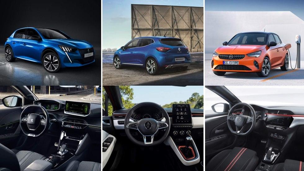 Opel Corsa, Peugeot 208 y Renault Clio: ¿cuál es mejor de los nuevos utilitarios?
