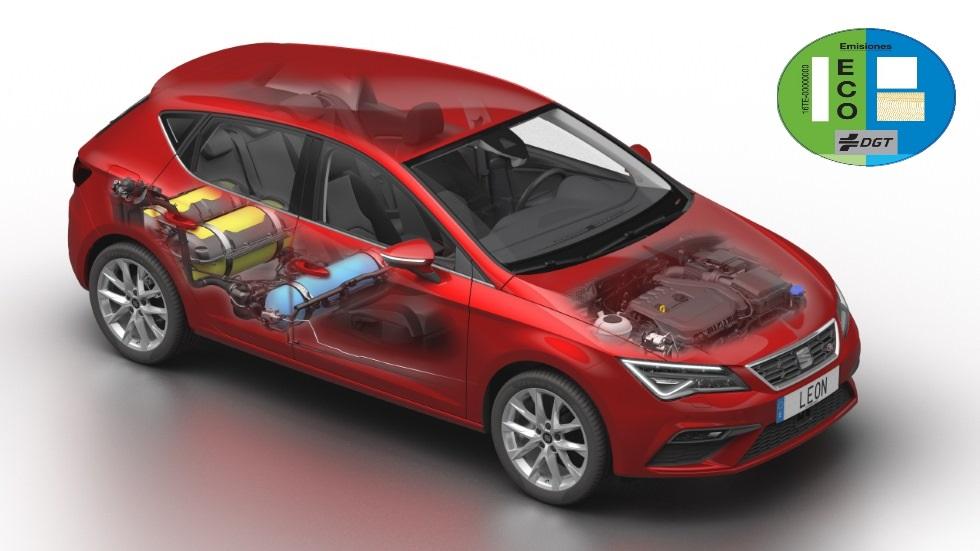 Cómo convertir un coche de gasolina en un híbrido de gas, y obtener la etiqueta ECO