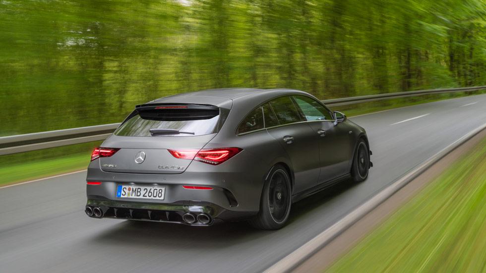 Mercedes-AMG CLA 45 4Matic+ Shooting Brake 2019: así es la nueva berlina deportiva