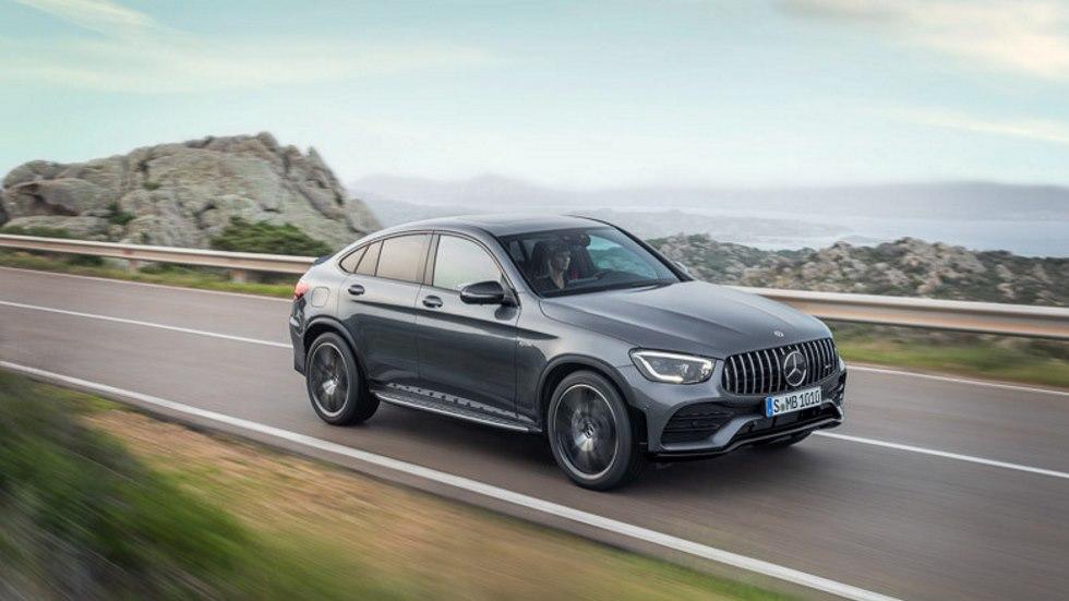 Mercedes-AMG GLC y GLC Coupé 43 4Matic: más potencia e imagen actualizada