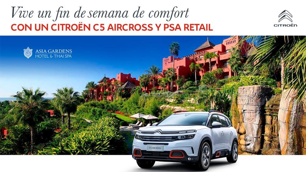Vive un fin de semana de confort con el Citroën C5 Aircross: participa gratis
