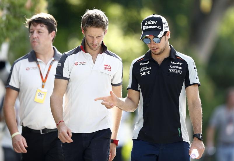 ¿Checo Pérez a Haas en lugar de Romain Grosjean?