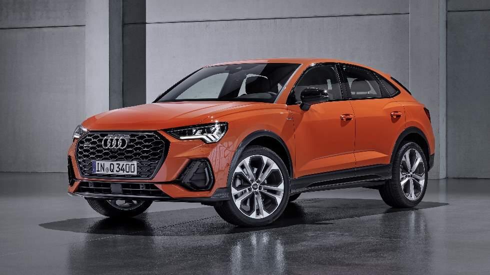 Audi Q3 Sportback: fotos y datos oficiales del nuevo SUV coupé