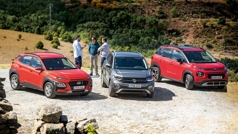 Revista Autopista 3.109: Hyundai Kona, VW T-Cross y C3 Aircross, ¿cuál es el mejor SUV urbano?