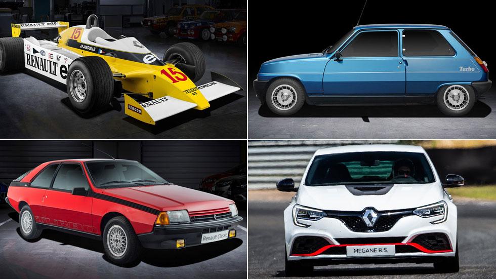 40 años de los Renault Turbo: sus mejores coches