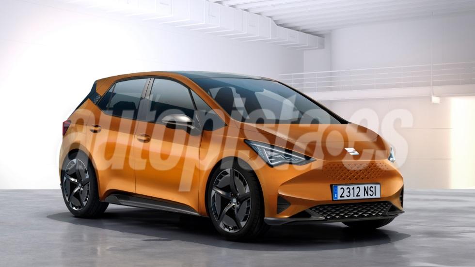 Seat El-Born: el nuevo compacto eléctrico llega en un año