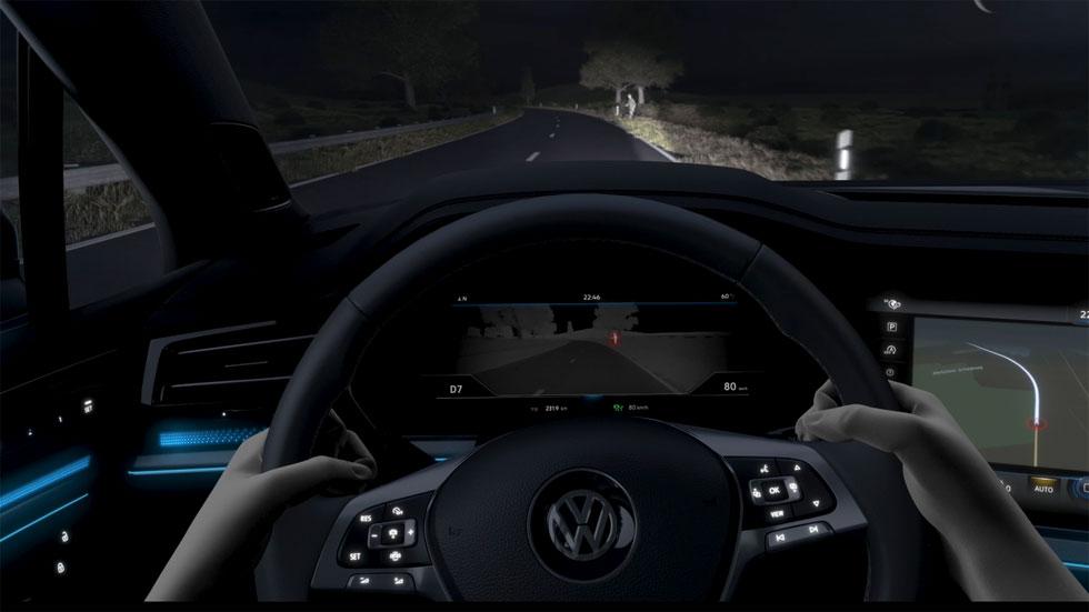 VÍDEO: así funciona el nuevo sistema de visión nocturna en los coches