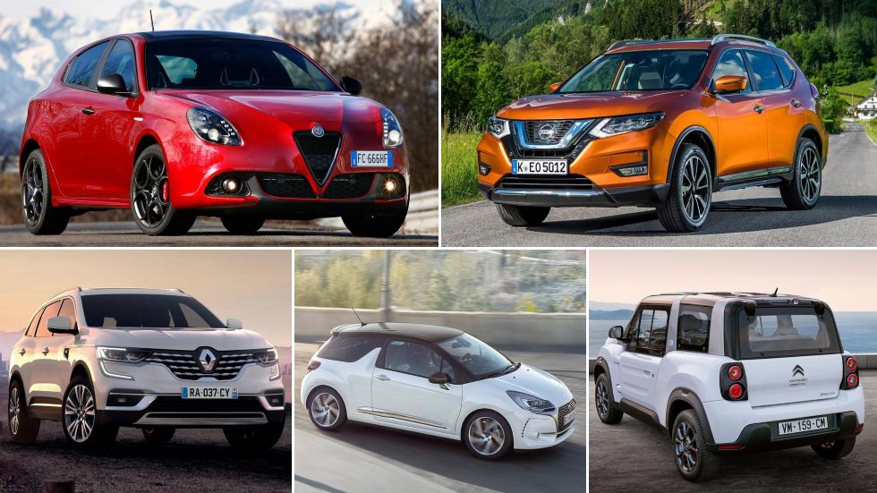 10 coches que no cumplen expectativas en ventas en este 2019
