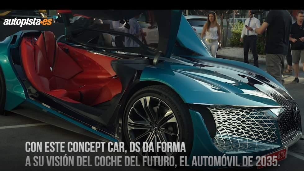 DS X E-Tense: al volante del coche del futuro (VÍDEO)