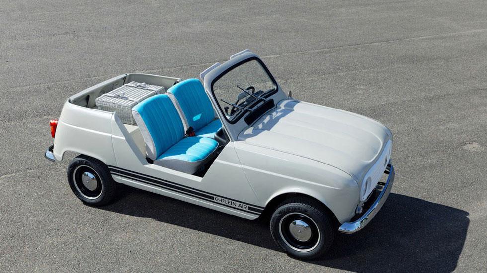 Renault e-Plein Air: así es el nuevo 4 Latas eléctrico