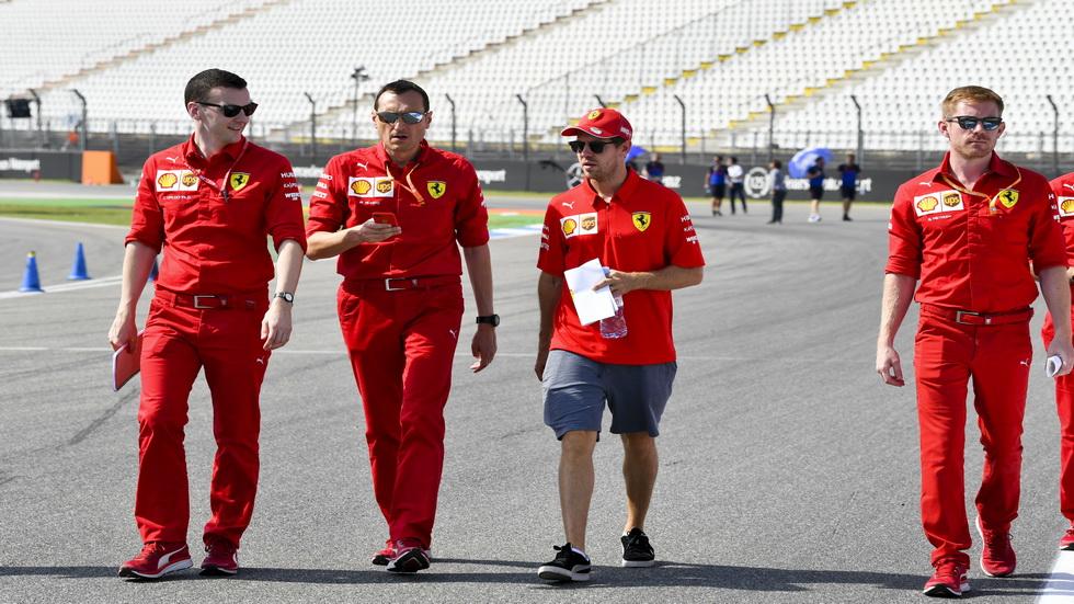 """GP de Alemania de F1: Vettel reconoce que """"el domingo quiero ganar"""""""