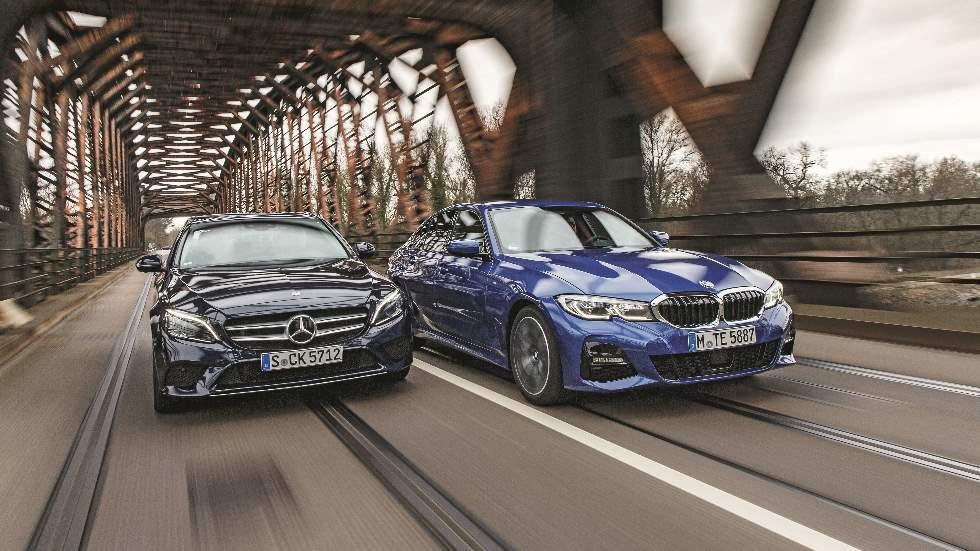 BMW 320d vs Mercedes C 220d: ¿qué berlina diésel premium es mejor?
