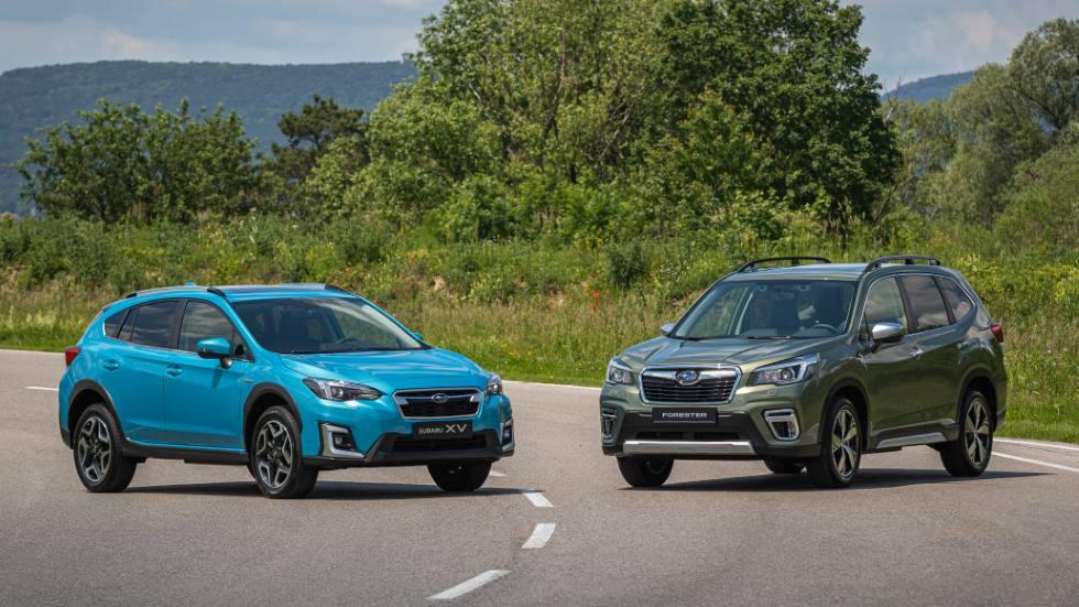 Todos los nuevos coches ECO de Subaru: Forester y XV Hybrid, y gama Bi-fuel