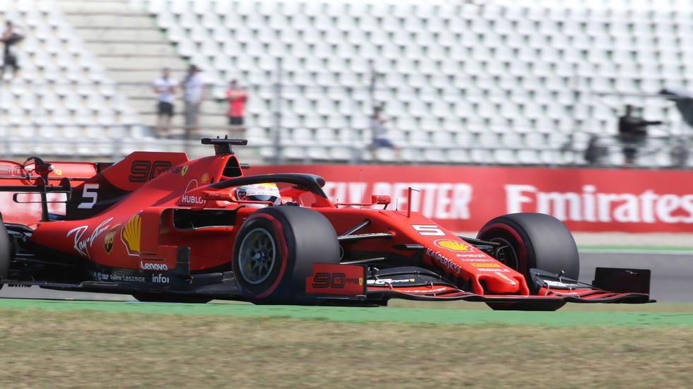 GP de Alemania de F1 (FP1): los Ferrari dominaron la primera sesión
