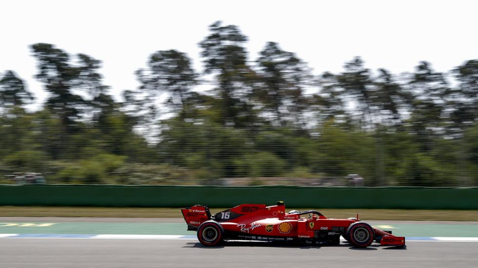 GP de Alemania de F1 (FP2): por la mañana Vettel, por la tarde Leclerc