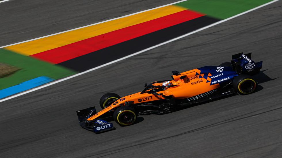 GP de Alemania de F1: Sainz 7º y 11º en Hockenheim
