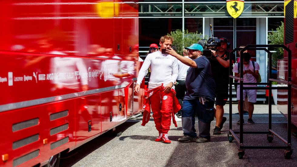 GP de Alemania de F1: mal día para los Ferrari