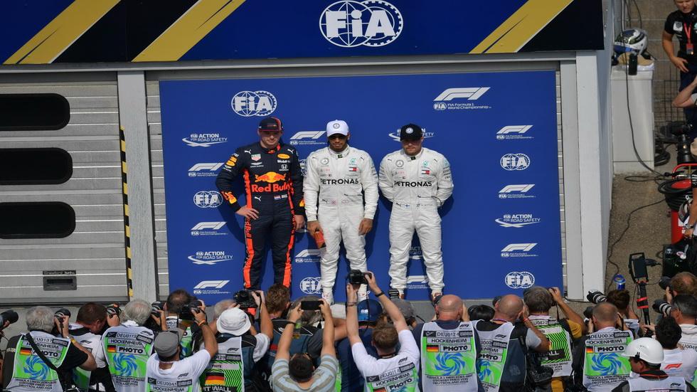 GP de Alemania de F1: así queda la parrilla de salida