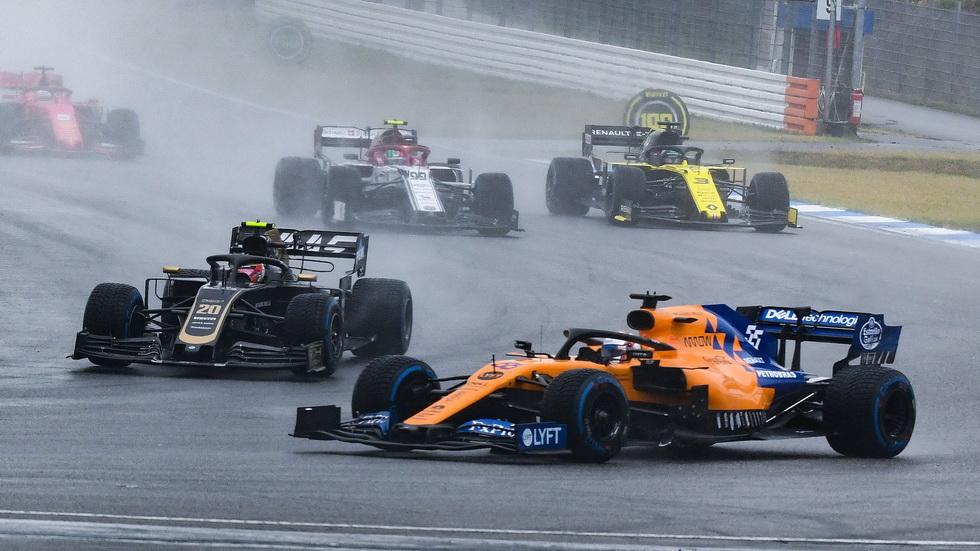 GP de Alemania de F1: magnífica quinta posición para Carlos Sainz