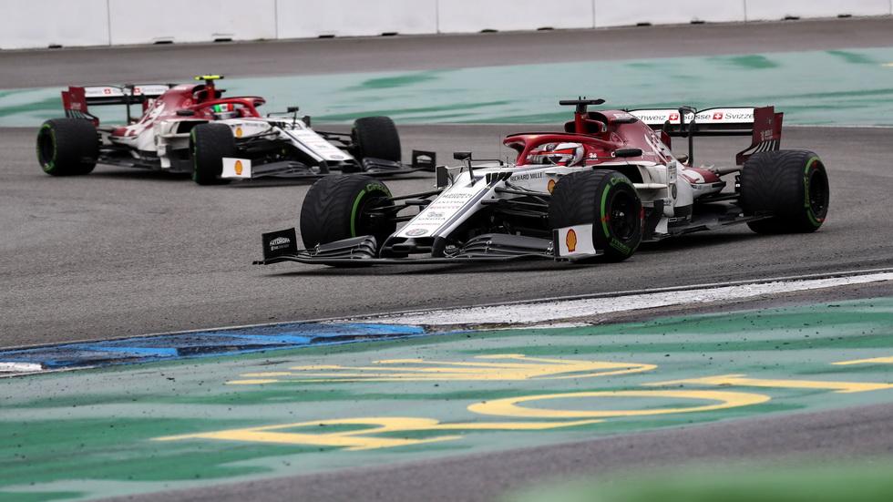 GP de Alemania de F1: los dos pilotos de Alfa Romeo sancionados y no puntúan