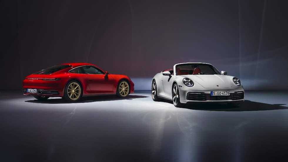 """Porsche 911 Carrera Coupé y Cabrio 2019: llegan las versiones más """"normales y baratas"""""""
