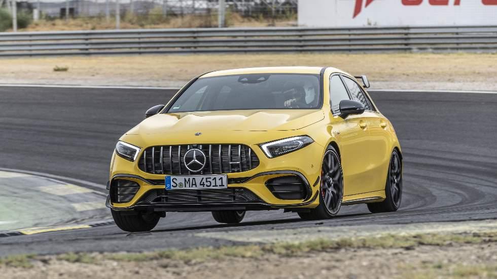 Mercedes-AMG A 45 y CLA 45 4Matic+: a prueba los compactos con mejores prestaciones