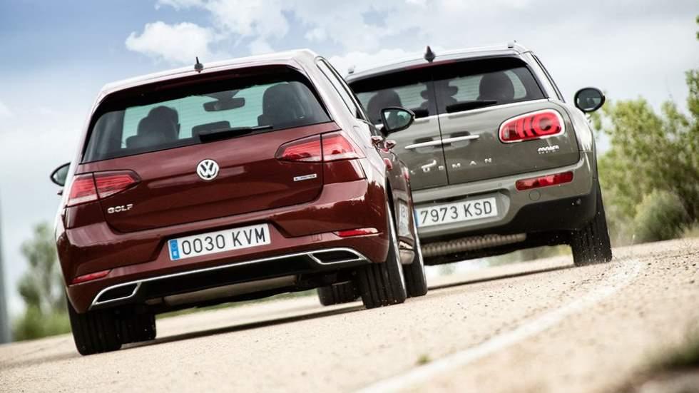 Mini Clubman Cooper vs. VW Golf TSI: elegimos el mejor compacto de gasolina