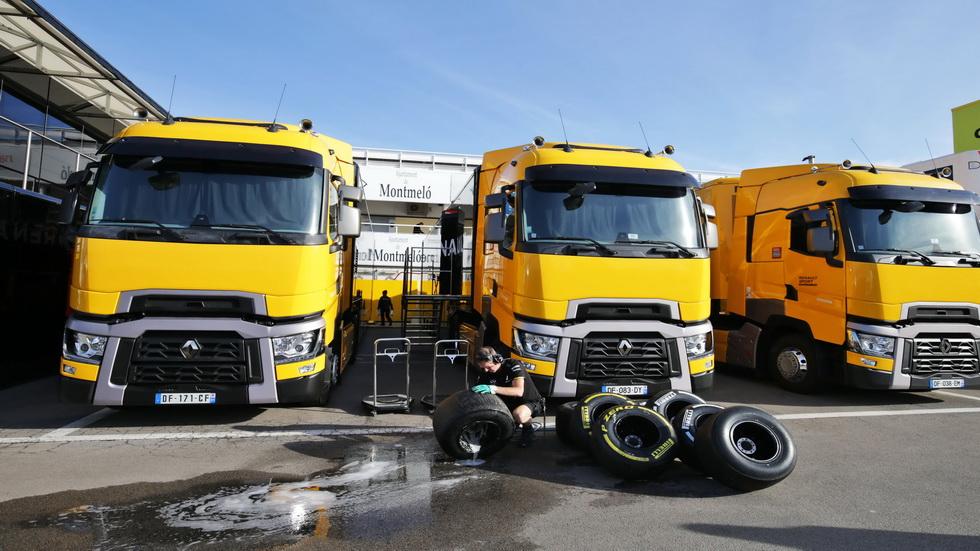 GP de Hungría de F1: herido un conductor de los camiones de Renault