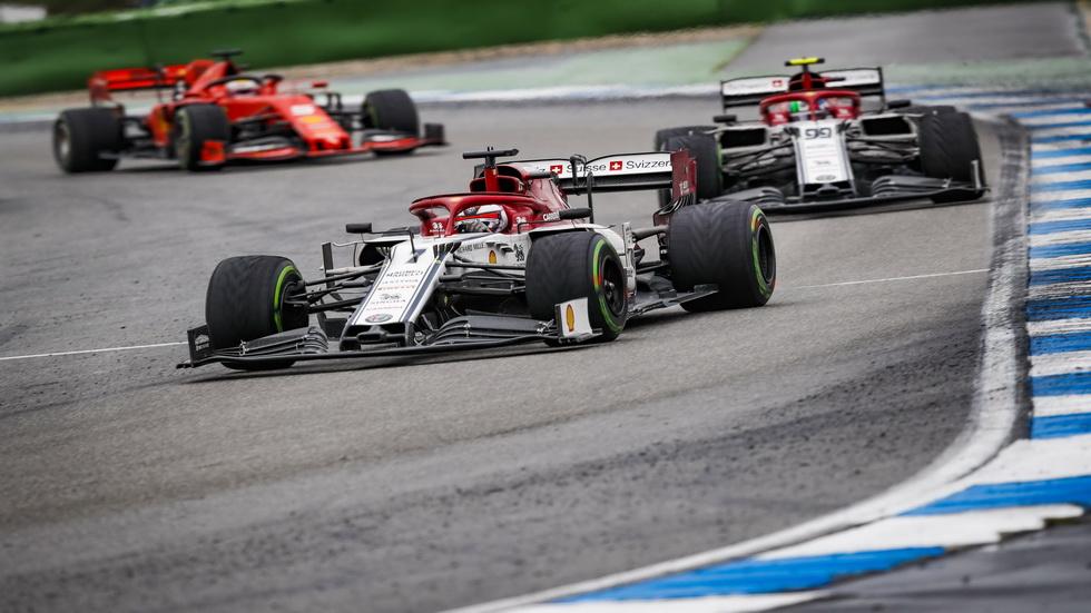 Alfa Romeo recurre la sanción de la carrera de Alemania