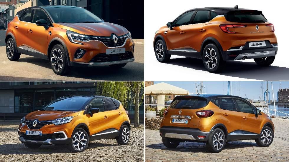 Renault Captur I frente a nuevo Renault Captur 2020: ¿qué diferencias hay?