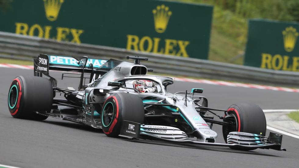 GP de Hungría de F1 (FP1): mejor tiempo para Hamilton