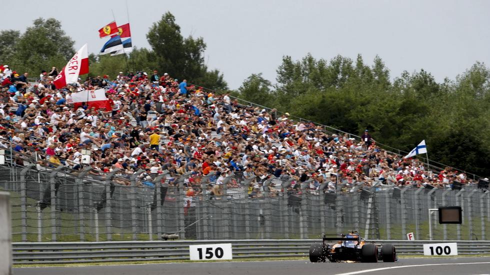 GP de Hungría de F1: cambio de motor para Sainz