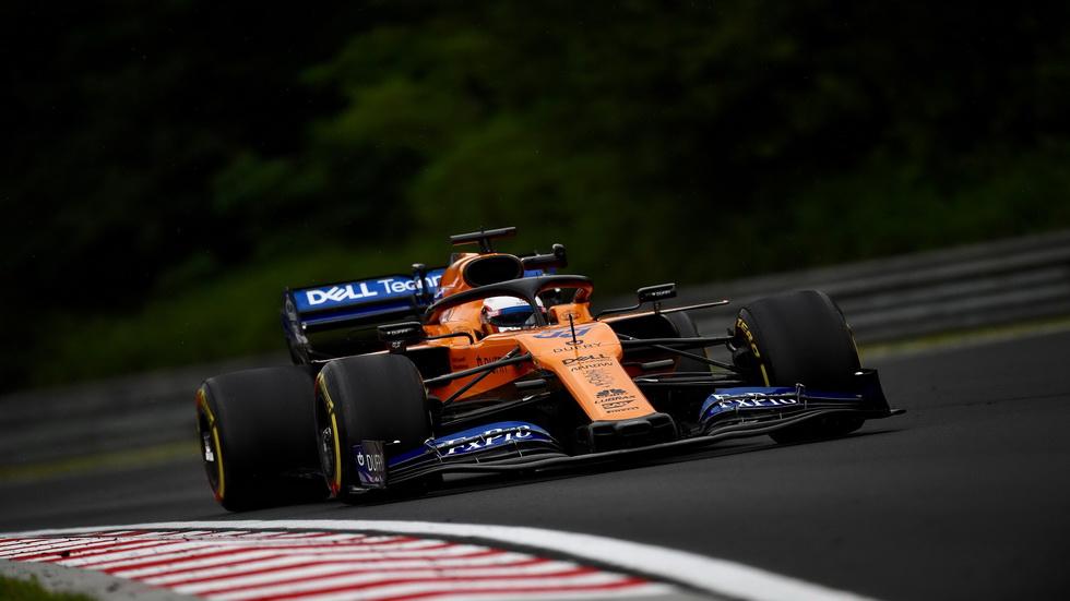 GP de Hungría de F1: Sainz fue octavo en calificación