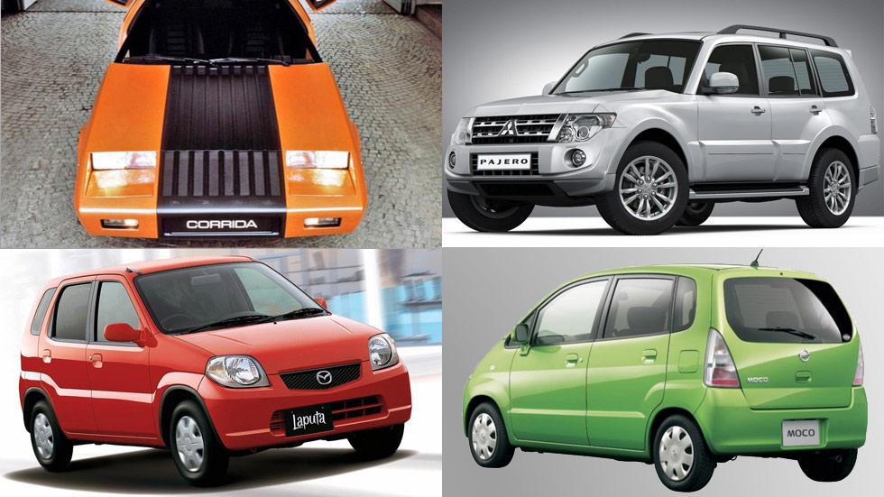 """Los coches con los nombres más raros e """"inapropiados"""": Pajero, Lavida, Moco, Granvia…"""