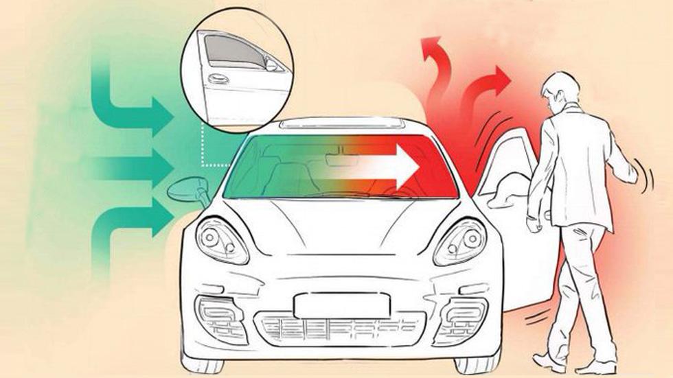 Cómo bajar la temperatura del coche y airear el habitáculo: la Guardia Civil te lo explica
