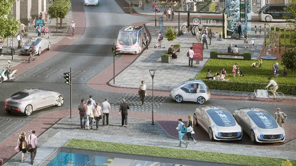 Así serán y así se circulará en las Smart Cities o ciudades inteligentes del futuro