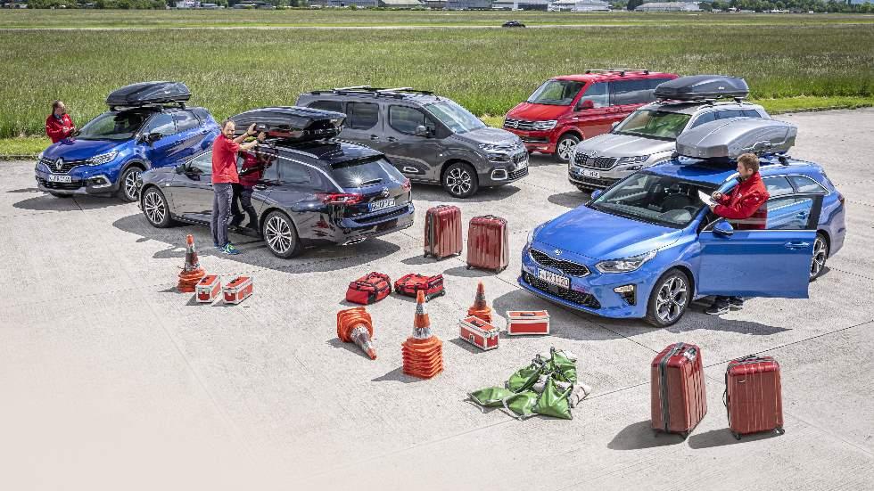 ¿Cómo afecta la carga en la conducción? Lo analizamos en Insignia, Kodiaq, Ceed Tourer…