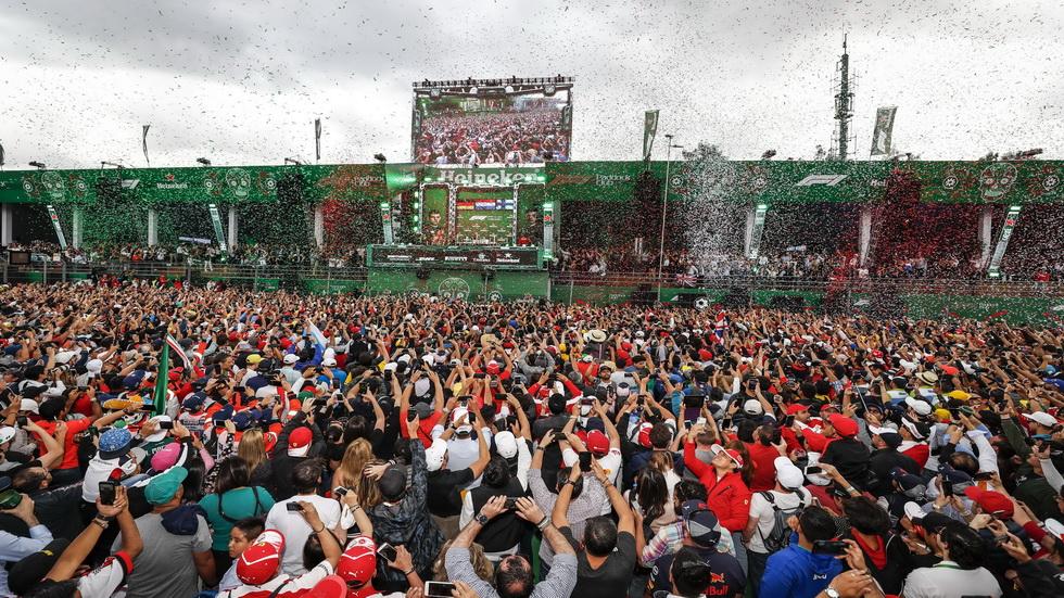 El Gran Premio de México renueva su contrato hasta finales de 2022